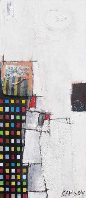 Perspective Divergente — Acrylique et autres matériaux