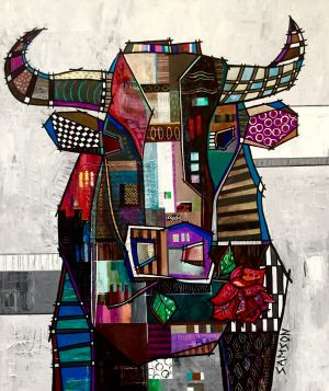 """AMOUR BRUTE - 40"""" X 30"""""""